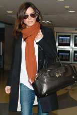 LOS ANGELES, CA - FEBRUARY 09: Sandra Bullock is seen at Los Angeles International Airport on February 09, 2012 in Los Angeles, California. (Photo by GVK/HM/Bauer-Griffin/GC Images)