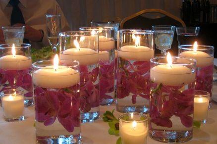 floating-candles-wedding-decoration
