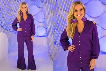 como-usar-looks-monocromatico-roxo-tendencia-2015-apresentadora-eliana-moda-sem-limites