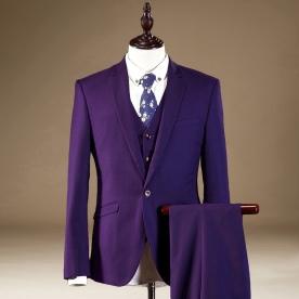 Grooms-Mens-font-b-Tuxedos-b-font-With-Pants-Slim-Fit-Men-Dress-Suit-font-b