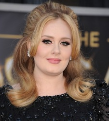 HOLLYWOOD, CA - FEBRUARY 24: Adele arrives at the 85th Annual Academy Awards at Dolby Theatre on February 24, 2013 in Hollywood, California. (Photo by Steve Granitz/WireImage)