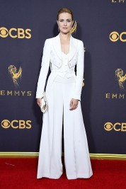 LOS ANGELES, CA - SEPTEMBER 17: Actor Evan Rachel Wood attends the 69th Annual Primetime Emmy Awards at Microsoft Theater on September 17, 2017 in Los Angeles, California. (Photo by Steve Granitz/WireImage)