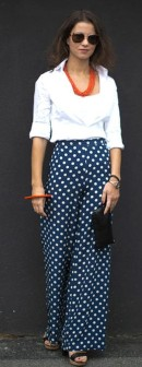 Polka-dot-pants-added-flair-classic-button-down